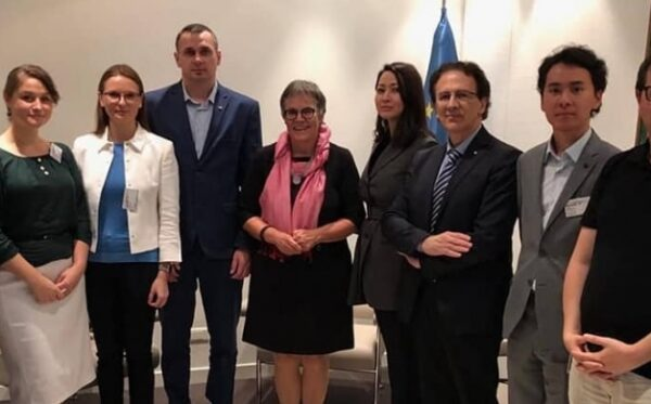 Our first meeting with Oleg Sentsov
