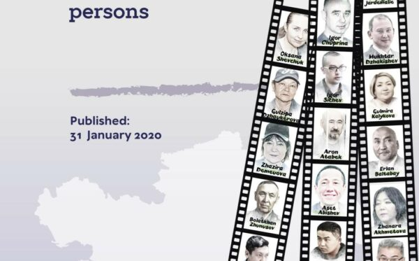 List of Kazakhstani political prisoners and other politically prosecuted persons