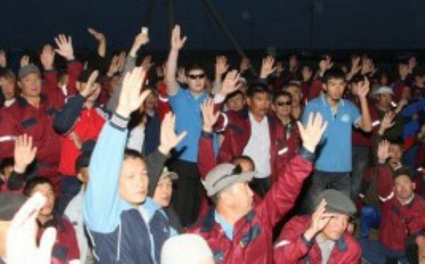 Kazachstan: bezczynność władz popycha pracowników rafinerii do samobójstwa!