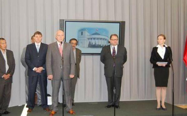 Konferencja prasowa w Sejmie RP