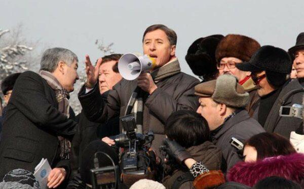 Jedyna partia opozycyjna Kazachstanu została ukarana za zorganizowanie mitingu
