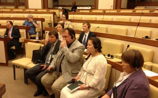 Kazachstańska delegacja w Rzymie: przesłuchanie we włoskim senacie