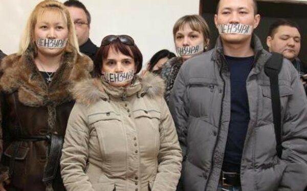 Sądy zawieszają działalność opozycyjnych mediów na dzień przed rocznicą Zhanaozen