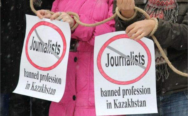 """Rozprawy sądowe dotyczące mediów: gazety """"Vzglyad"""" i gazety """"Respublika"""" traktowanej jako jeden wspólny środek masowego przekazu, portalu internetowego """"stan.tv"""", stacji telewizyjnej """"K+"""" oraz niezarejestrowanej partii """"Alga!"""""""