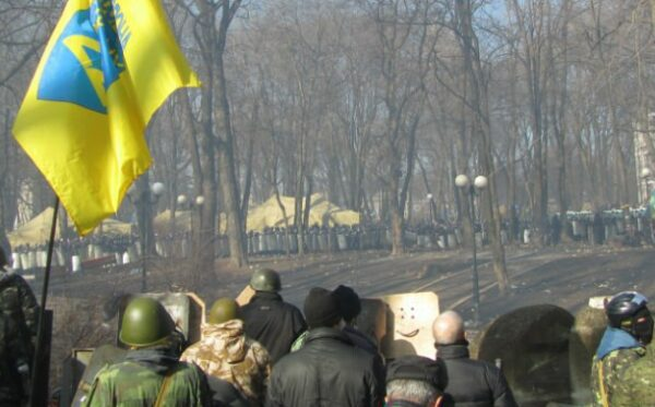 Ukraina: pierwsi zabici w czasie antyrządowych protestów