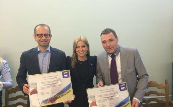 Ukraińcy dziękują polskim politykom