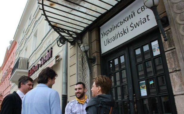 """Minister Kultury Ukrainy z wizytą w """"Ukraińskim Świecie"""""""