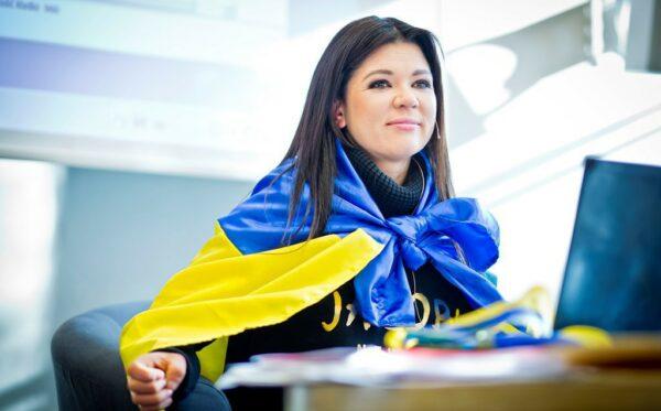 Ruslana Lyzhychko w Ukraińskim Świecie