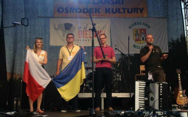 Kozak System i Fundacja Otwarty Dialog na Bielańskim Pikniku