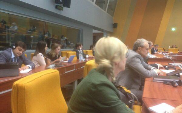 Spotkanie przy Zgromadzeniu Parlamentarnym Rady Europy