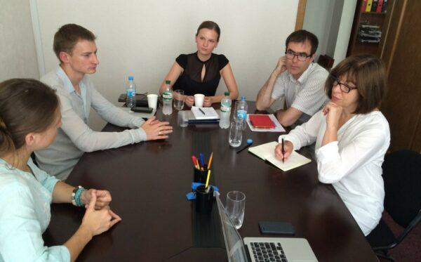 Spotkanie z Verą Savchenko oraz Rebeccą Harms