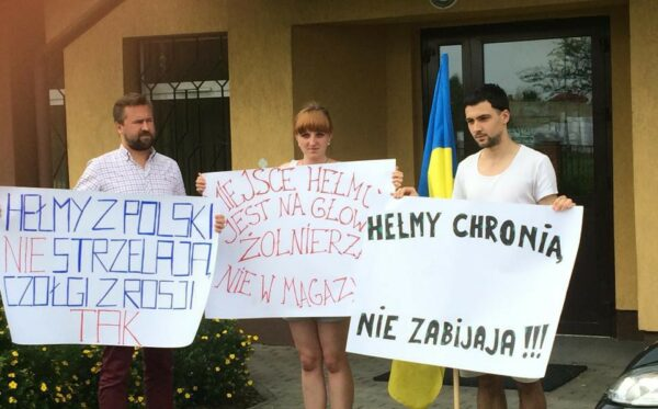 Protest pod prokuraturą w Zamościu