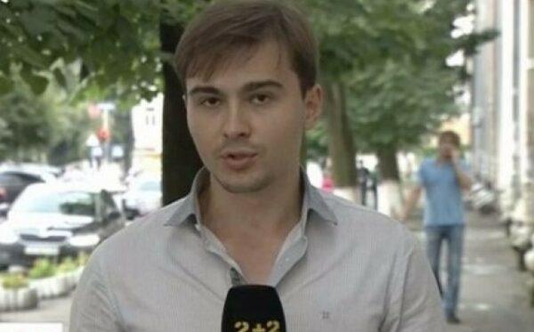 Ukraińskiego dziennikarza Yevgeniya Agarkova aresztowano w Moskwie