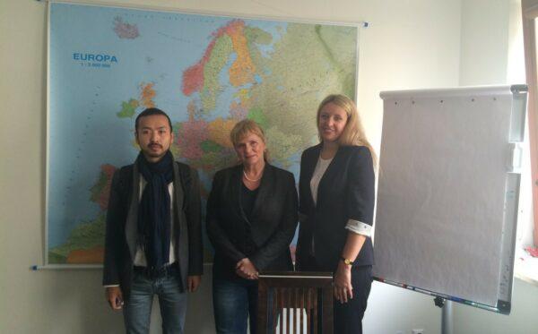 Bliscy kazachskich dysydentów spotkali się z poseł Małgorzatą Gosiewską