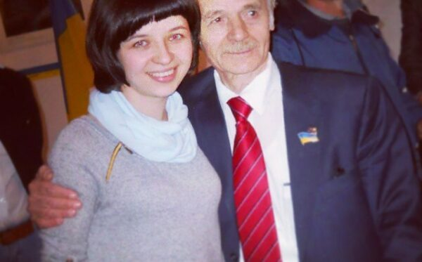Spotkanie z Mustafą Dzhemilevem