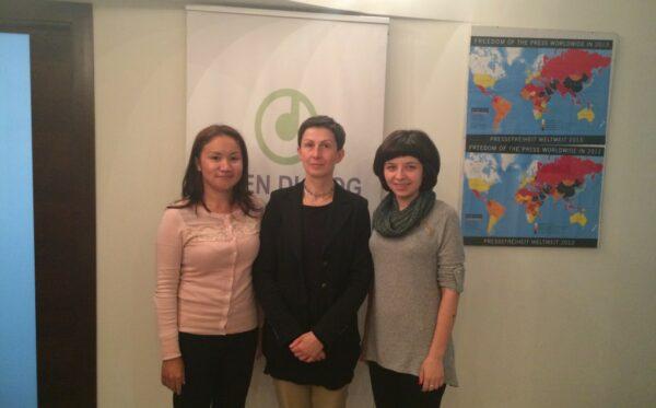 Spotkanie z białoruską dziennikarką, Tatianą Novikovą