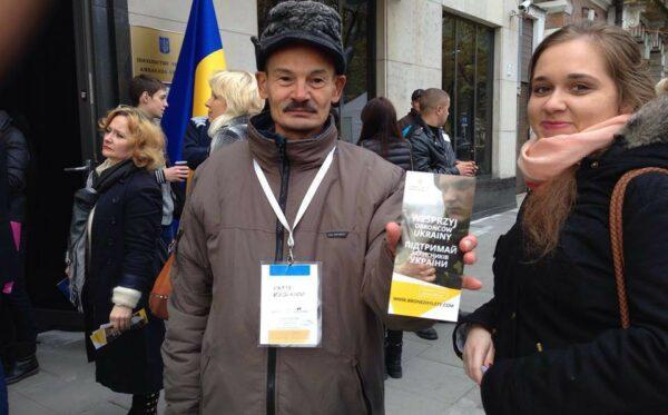 Zbiórka dla ukraińskich żołnierzy w strefie ATO