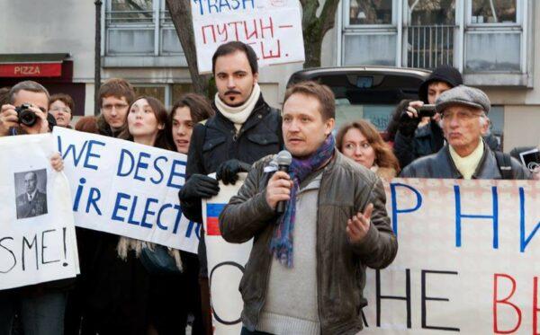 Francuski aktywista Nikolay Koblyakov wraca do domu