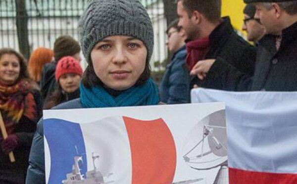 Demonstracja pod Ministerstwem Obrony Narodowej
