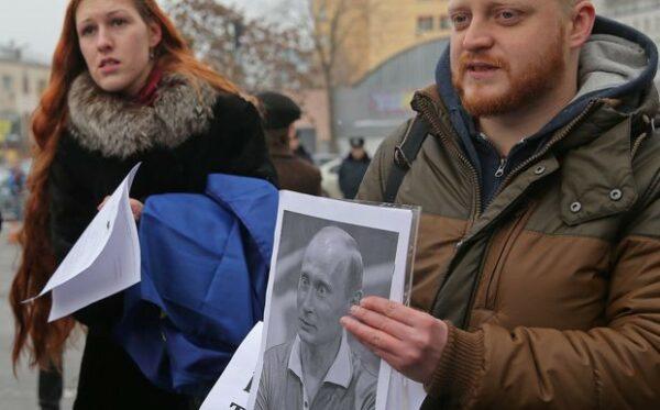 Wolność dla N. Savchenko. Happening przed Przedstawicielstwem UE w Kijowie
