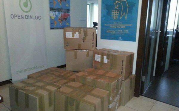 Pomoc humanitarna dla uchodźców ze strefy ATO