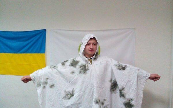Zimowa odzież maskująca dla ukraińskich żołnierzy