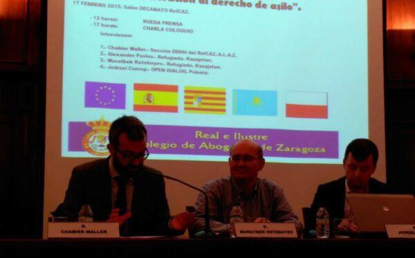 W Saragossie o prawach człowieka w Kazachstanie