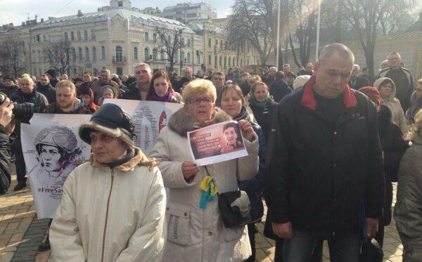 """Batkivshchyna"" poparła ""listę Savchenko"""
