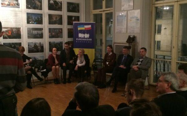 O lustracji na Ukrainie. Spotkanie z udziałem Tetiany Kozachenko