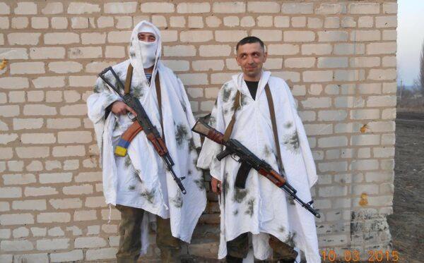 Peleryny maskujące dla ukraińskich poborowych