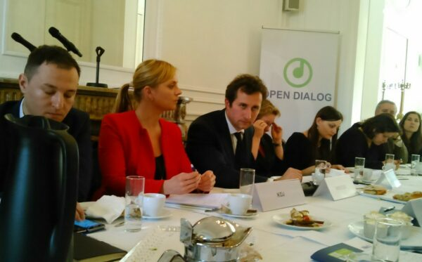 W Brukseli o walce z korupcją, lustracji i reformach na Ukrainie