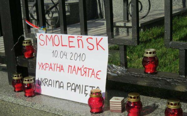 W Kijowie uczczono pamięć osób, które zginęły w czasie tragedii smoleńskiej