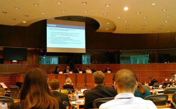 Wymiana poglądów w ramach posiedzenia Podkomisji Praw Człowieka Parlamentu Europejskiego na temat sytuacji na Ukrainie na obszarach ogarniętych konfliktem