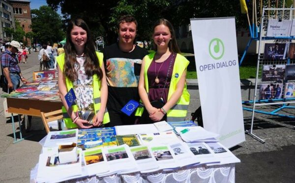 Fundacja Otwarty Dialog na Dniach Europy w Drohobyczu
