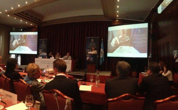 ODF na pierwszym spotkaniu Grupy Roboczej Interpolu ds. Przetwarzania Informacji