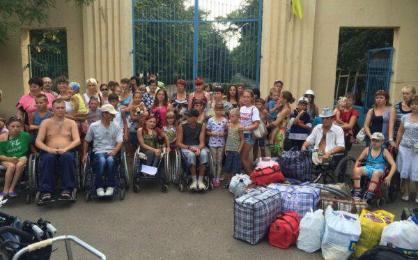 Raport: Zabezpieczenie praw osób wewnętrznie przesiedlonych w Ukrainie