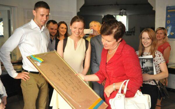 """Prezydent Warszawy z wizytą w """"Ukraińskim Świecie"""""""