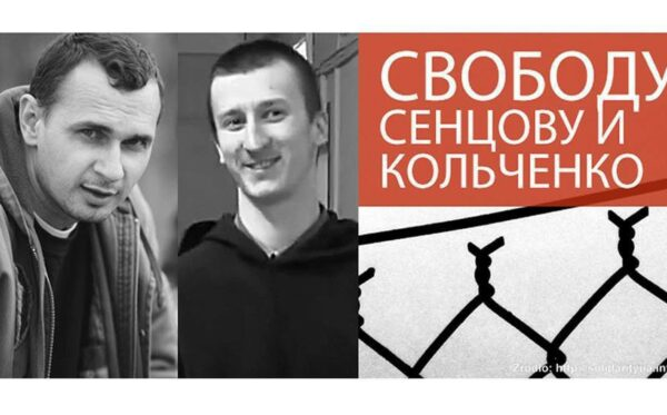 Sentsov skazany na 20 lat kolonii karnej. Warszawa protestuje