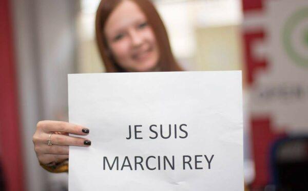 #JeSuisMarcinRey. Stop mowie nienawiści
