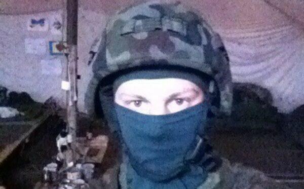 Hełm dla Vitaliya z 79 Brygady Aeromobilnej