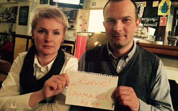 Akcja #JeSuisMarcinRey rozszerza się na Ukrainę