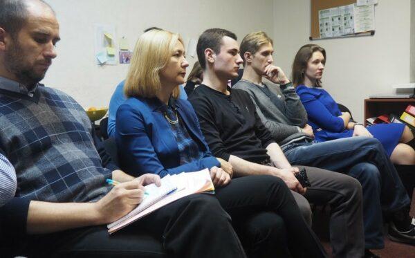 W Kijowskim biurze Fundacji Otwarty Dialog ruszył cykl spotkań Otwarta Platforma Doświadczeń