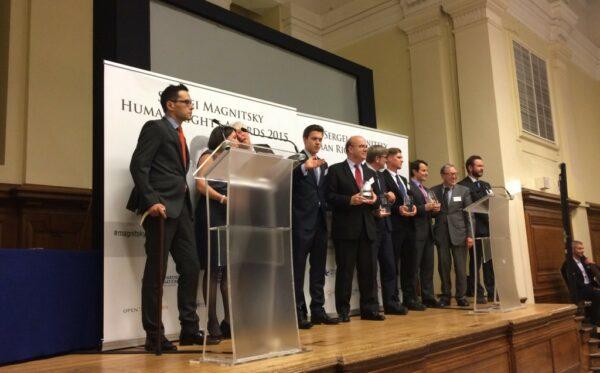 Bill Browder wręczył nagrody im. Siergieja Magnitskiego