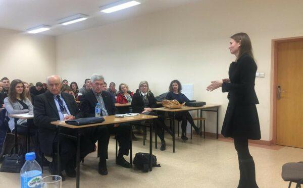Prawa człowieka i społeczeństwo obywatelskie w Europie Wschodniej – spotkanie z L. Kozlovską