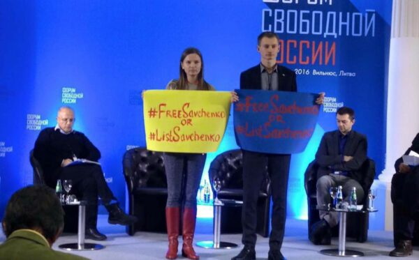 Rosyjska opozycja żąda Listy Savchenko