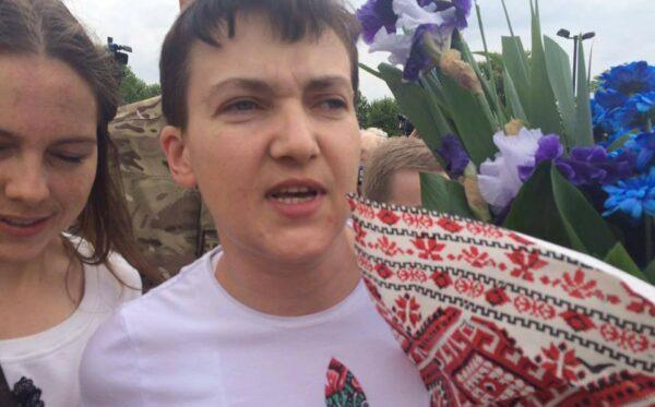Nadia Savchenko na wolności! Relacja ODF z lotniska w Boryspolu