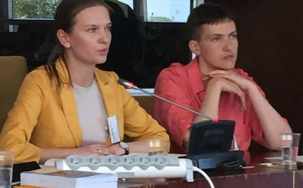 Rola sankcji jako instrumentu wsparcia praw człowieka w Rosji – dyskusja z udziałem N. Savchenko