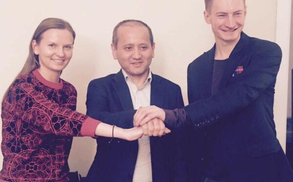 Pierwsze spotkanie Fundacji Otwarty Dialog z Mukhtarem Ablyazovem