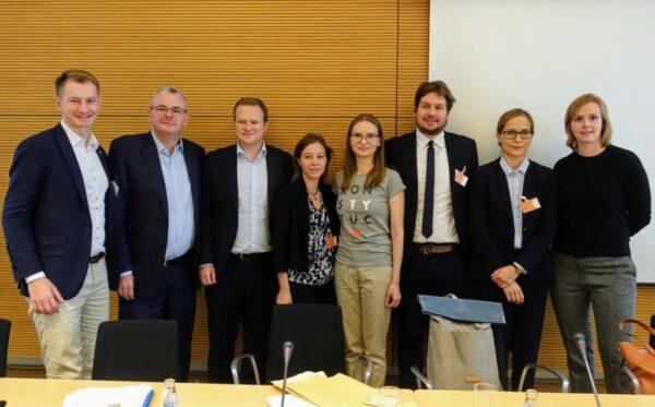 Prezes Fundacji Otwarty Dialog znów na terenie Unii Europejskiej. W Bundestagu opowiedziała o Polsce