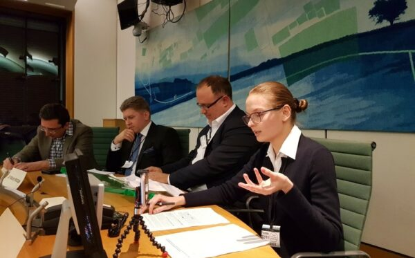 Lyudmyla Kozlovska o rządach prawa w Polsce w brytyjskiej Izbie Gmin